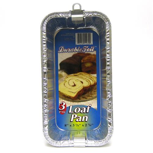 Wholesale Loaf Pan - Foil  2lb 8 x 3.75 x 2.38""