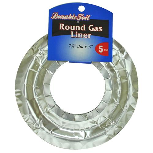 """Wholesale Foil Round Gas Range Liner 7.6"""""""""""