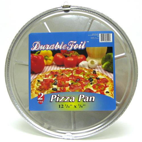 Wholesale Pizza Pan - Foil 12.25 x 3/8""