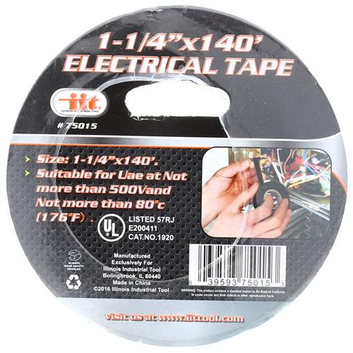 "Wholesale 1-1/4"" x 140' Electrical Tape"