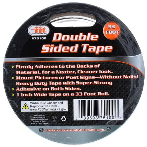 "Wholesale 1""x33' Double Sided Tape"