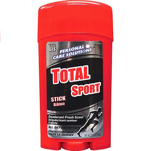 Wholesale Total Sport Men's Stick Deordorant.  2.25 oz.