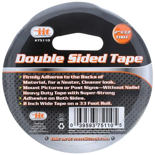 "Wholesale Double Sided Tape 2""x33'"