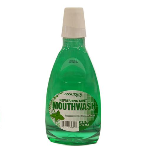 Wholesale Assured Mint Mouthwash 24oz