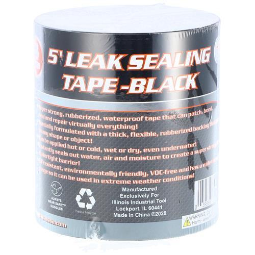 "Wholesale 4""x5' LEAK SEALING TAPE -BLACK"