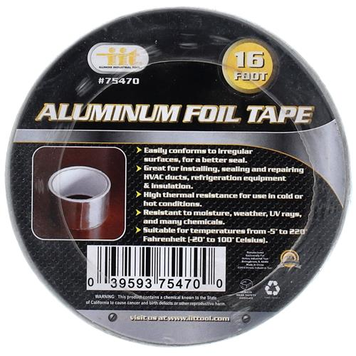 "Wholesale 2"" x 16' ALUMINUM FOIL TAPE"