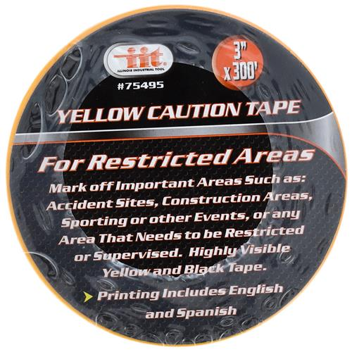"Wholesale 3"" X 300' CAUTION TAPE"