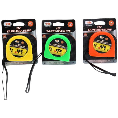 "Wholesale 16' X 1/2"" Tape Measure"