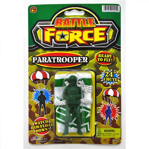 Wholesale Battle Force Ready to Fly Paratrooper