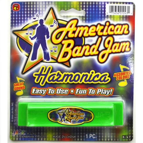 Wholesale American Band Jam/Toy Tunes Harmonica Assorted