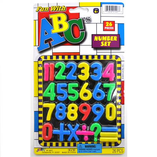 Wholesale Fun with ABC's Letters & Numbers Set