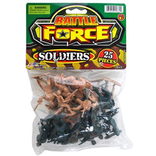 Wholesale Battle Force Bag of Soldiers 25 Pieces