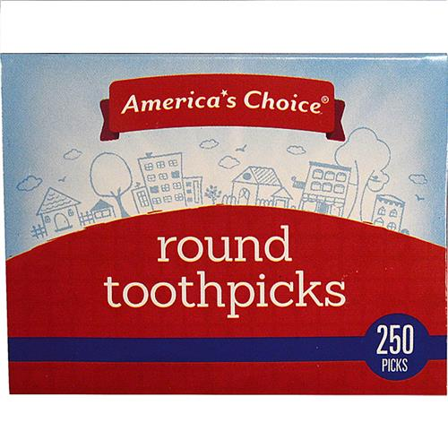 Wholesale TOOTHPICK ROUND 250 PICKS A.C.