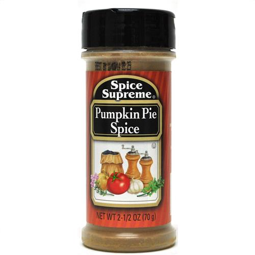 Wholesale Spice Supreme Pumpkin Pie Spice