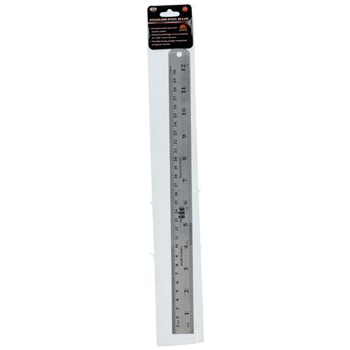 """Wholesale 12"""" Stainless Steel Ruler"""