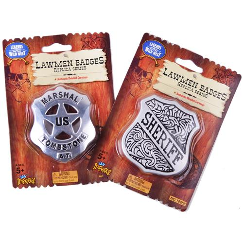 Wholesale Lawman Badges 6 Styles