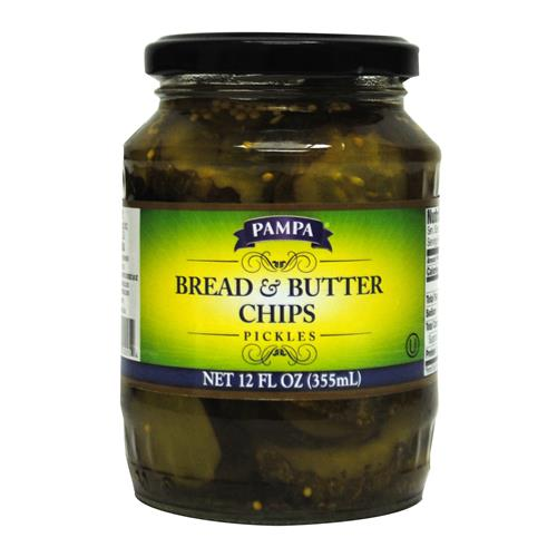 Wholesale Pampa Bread & Butter Chips