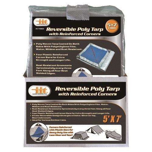 Wholesale REVERSIBLE POLY TARP 5' X 7'