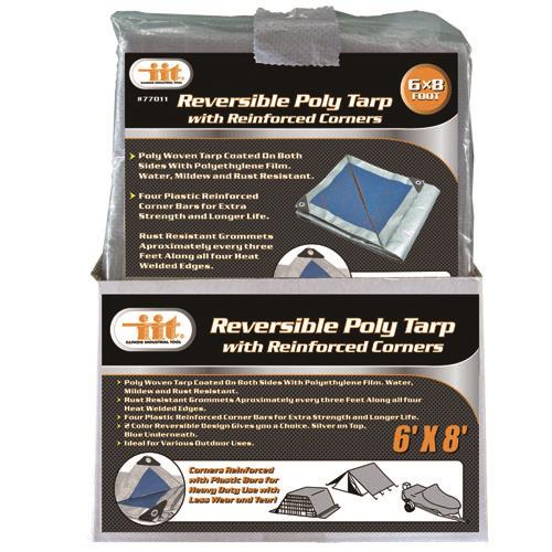 Wholesale REVERSIBLE POLY TARP 6' X 8'