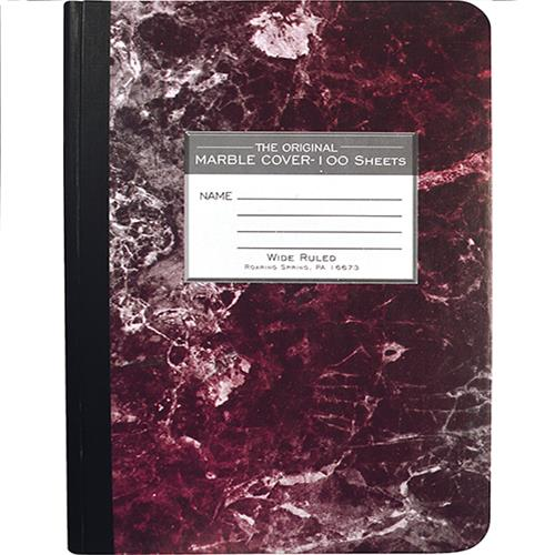 Wholesale MARBLE COMPOSITION BOOK WIDE R