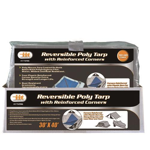 Wholesale REVERSIBLE POLY TARP 30' X 40'