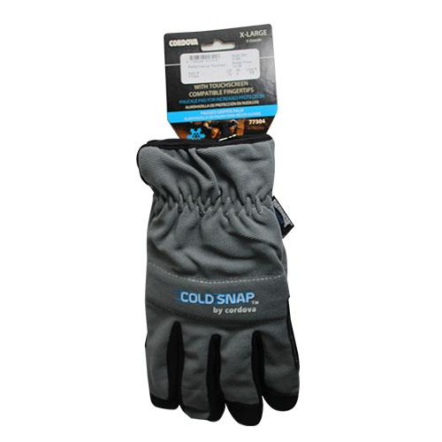 Wholesale CORDOVA COLD WEATHER GLOVES PADDED GRIPPER PALM X/LARGE