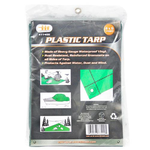 Wholesale 4' X 6' PLASTIC TARP