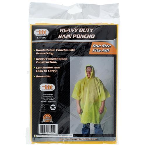 Wholesale Heavy Duty Rain Poncho