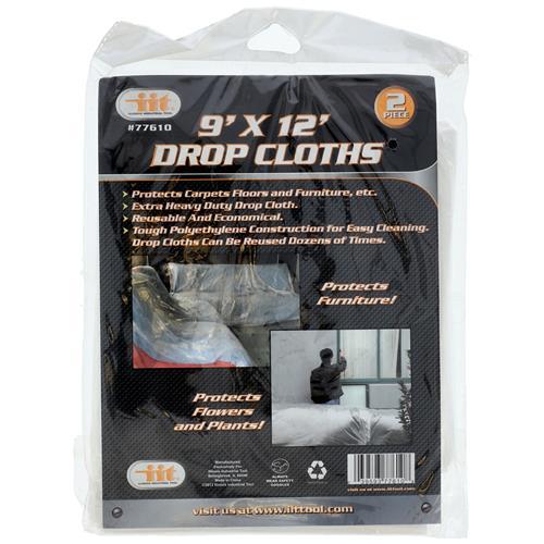 Wholesale 2 Pack 9' X 12' Drop Cloths