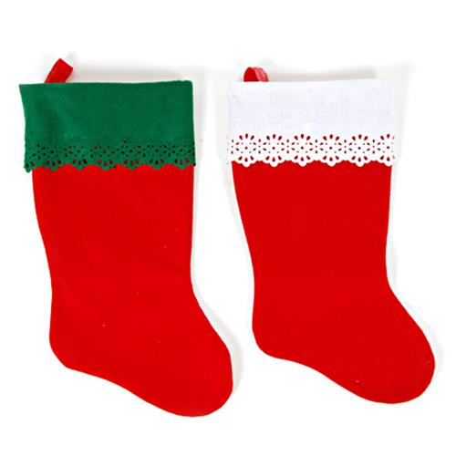 Wholesale CMAS FELT RED STOCKING 19""