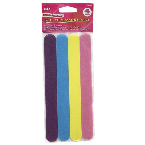 Wholesale 4pk NAIL FILE ASSORTMENT