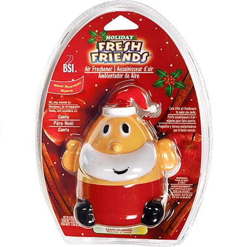 Wholesale Holiday Fresh Friends Santa-Apple/Cinnamon