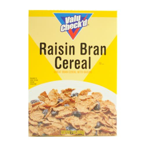 Wholesale Valu Check'd Raisin Bran Cereal