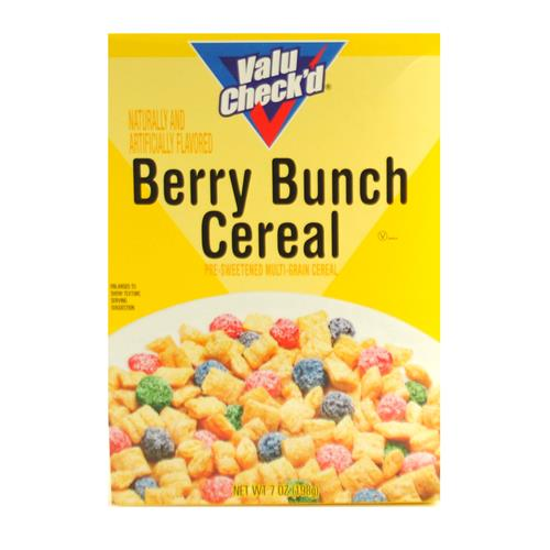 Wholesale Valu Check'd Berry Brunch Krunch Cereal