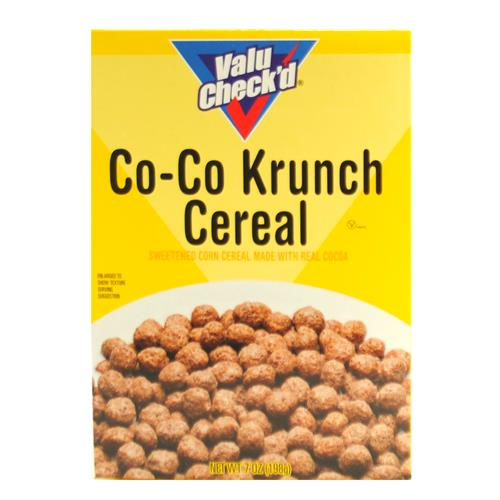 Wholesale Value Check'd Cocoa Krunch Cereal