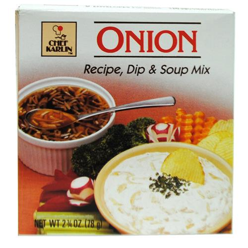 Wholesale Chef Karlin Onion Dip/Soup Mix