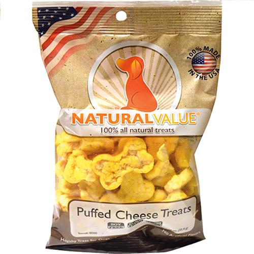 Wholesale Puffed Cheddar Rice Cakes Dog Treats