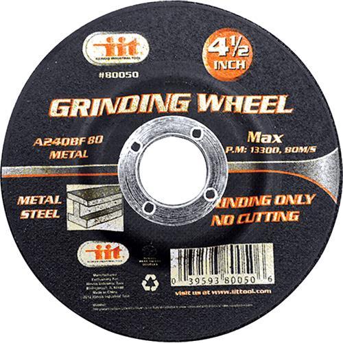 "Wholesale 4-1/2"" X 1/4"" X 7/8"" Grinding Wheel"