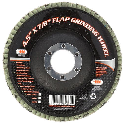"Wholesale Flap Grinding Wheel 4.5"" X 7/8"""