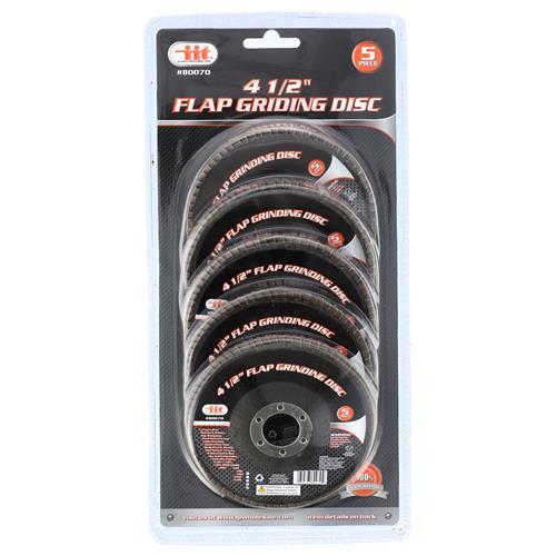 """Wholesale 5 Piece 4-1/2"""" Flap Grinding Disc"""