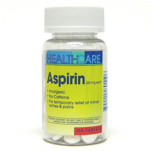 Wholesale Health Care 325 mg Aspirin Tablets