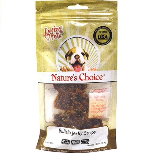 Wholesale Buffalo Jerky Strips 1.25oz by Nature's Choice