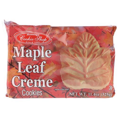 Wholesale Cookie Shop Maple Leaf Creme