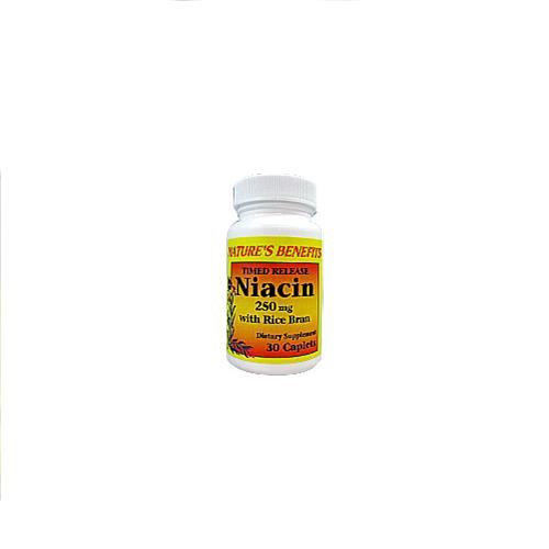 Wholesale Nature's Benefits Niacin 250 MG Time Released