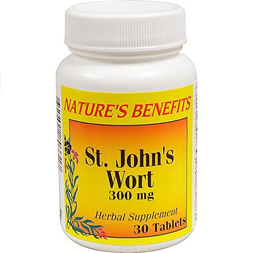 Wholesale Nature's Benefits St Johns Wort 300MG