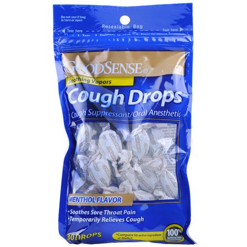 Wholesale Good Sense Cough Drops Menthol