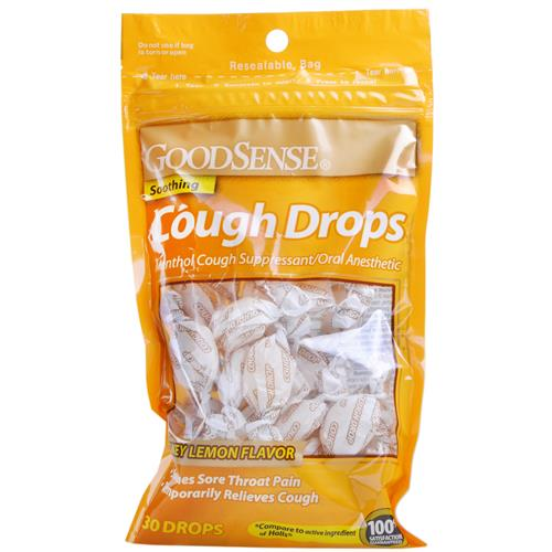 Wholesale Good Sense Cough Drops Honey Lemon