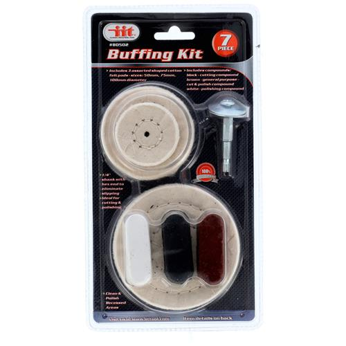 Wholesale 7pc BUFFING KIT w/ COMPOUND