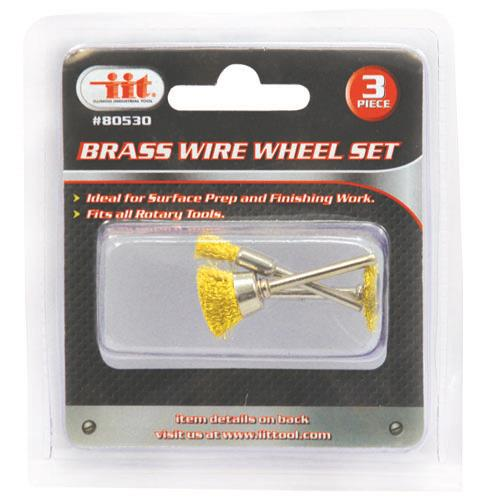 Wholesale Brass Wire Wheel Set