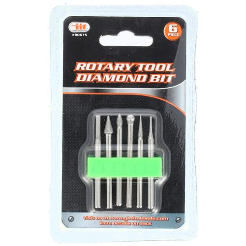 Wholesale 6p ROTARY TOOL DIAMOND BIT SET